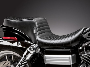 Le Pera - Cherokee Seat - Fits Dyna Models '06-'17 Pleated