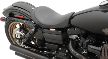 Drag Specialties - Low Solo Seat - Fits '06-'17 FXD/FXDWG, '12-'16 FLD