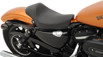 Drag Specialties - Smooth Solo Seat - Fits '10-'18 Harley XL Sportster Models