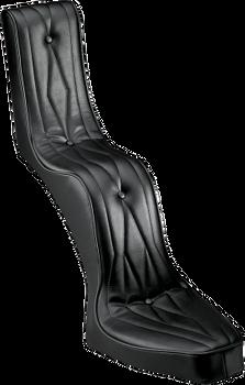 Drag Specialties - King and Queen Seat - Fits Custom Narrow Rigid Frames