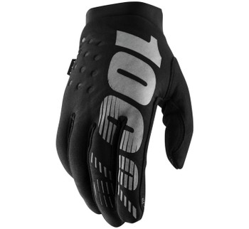 100% - Women's Brisker Cold-Weather Gloves - Black