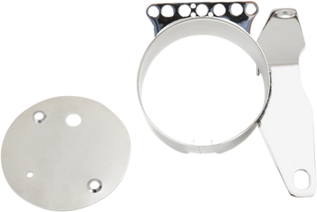 Drag Specialties - Speedometer Relocation Brackets - Fits '04-'13 Harley XL Sportster Models