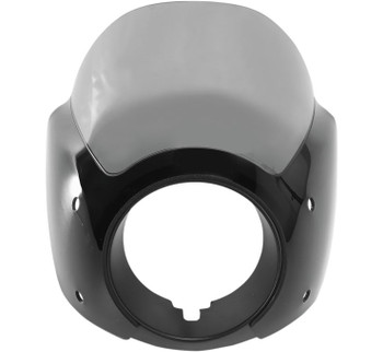 Memphis Shades Cafe Fairings Fits Dyna, Sportster Models