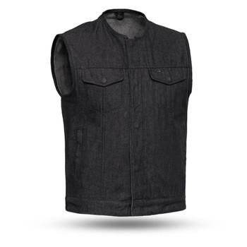 First Mfg Haywood Denim Vest
