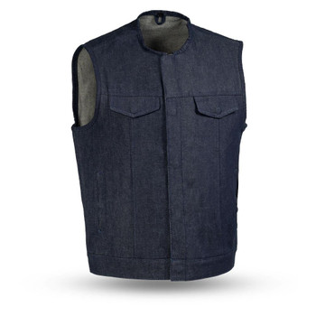 First Mfg - Haywood Denim Vest