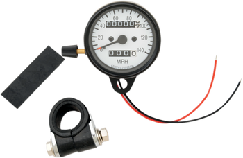 "Drag Specialties 2.4"" Mini Mechanical MPH Speedometer Fits XL Models 86-94"