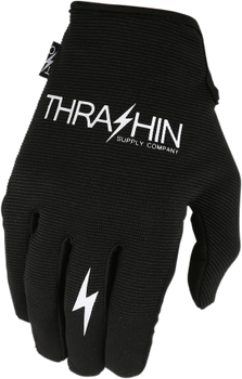Thrashin Supply Co. Stealth Glove V.2 Black/Black Front