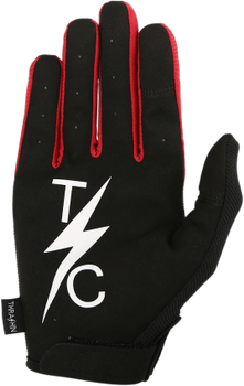 Thrashin Supply Co. Stealth Glove V.2 Black/Red Front