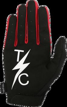 Thrashin Supply Stealth Glove - Black/Red
