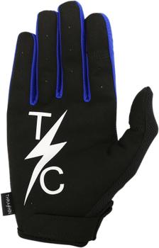 Thrashin Supply Co. Stealth Glove V.2 Black/Blue Back