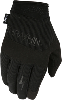 Thrashin Supply Co. Covert Gloves Black Front