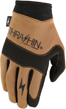 Thrashin Supply Co. Covert Gloves Tan Front