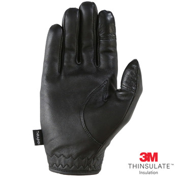 Thrashin Supply Co. Siege Insulated Glove in Black Leather