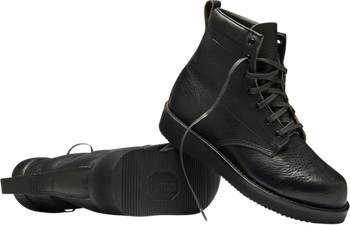 Broken Homme - James Leather Boots - Black