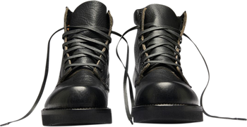 Broken Homme James Leather Boots Black