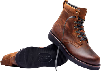 Broken Homme James Leather Boots Brown
