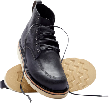Broken Homme Jaime Leather Boots Black