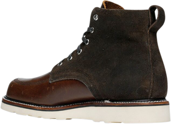 Broken Homme Jaime Leather Boots Brown