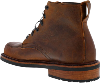 Broken Homme Davis Leather Boots Brown