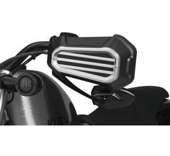 Kuryakyn - Dillinger Handguards, Silver or Black - Fits Harley-Davidson 14-18 XL Models