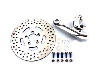 "V-Twin GMA Rear 2 Piston Caliper & 11-1/2"" Disc Kit Fits Harley-Davidson 00-05 FLST/FXST"