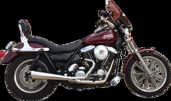 Supertrapp 2-Into-1 Megaphone System Fits Harley-Davidson 84-94/99-00 FXR Models