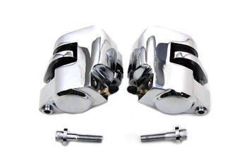 V-Twin - Front Caliper Set - Fits 84-99 FXST/FLT/XL, 86-99 FLST, 91-99 FXR/FXD