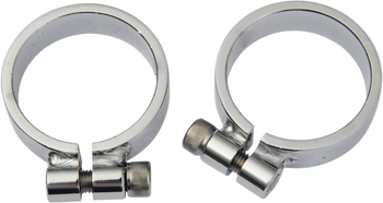 Drag Specialties - Super Exhaust Port Clamps - Fits Harley-Davidson 58-85 XL Models