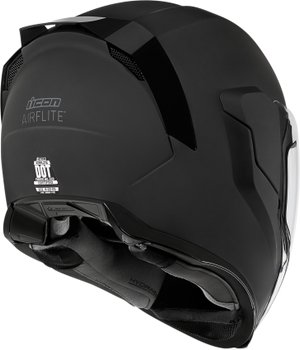 Icon Airflite Full-Face Helmet Rubatone Black