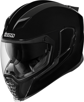Icon Airflite Full-Face Helmet Gloss Black
