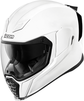 Icon Airflite Full-Face Helmet Gloss White