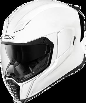 Icon Airflite Full-Face Helmet Gloss White
