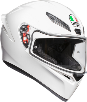 AGV K-1 Full-Face Sport Helmet Gloss White