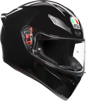 AGV K-1 Full-Face Sport Helmet Gloss Black