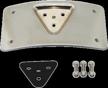 Custom Dynamics - Radius License Plate Mount - fits '99-'18 Harley Models