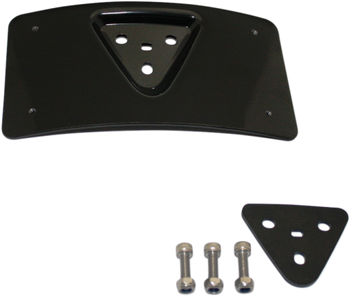 Custom Dynamics - Radius License Plate Mount - fits '99-'18 Harley Models