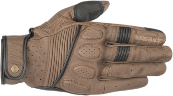 Alpinestars Crazy Eight Leather Gloves Black or Brown