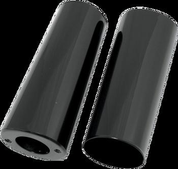 Drag Specialties Fork Slider Covers Fits Harley-Davidson 49-13 FL Models Black