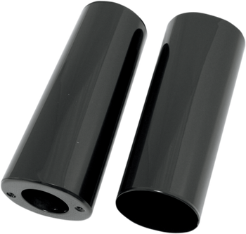 Drag Specialties Fork Slider Covers Fits Harley-Davidson 49-13 FL Models Black