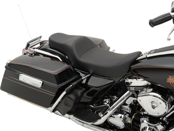 Drag Specialties - Extended Reach Predator Seat - Fits Harley 97-07 FLT/FLH Models