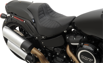 Drag Specialties - Solo Seat - Fits Harley-Davidson 18-Up FXFB