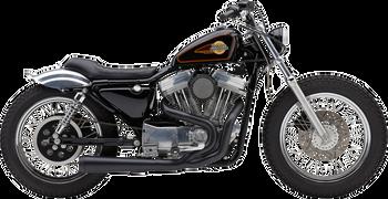 Cobra El Diablo 2-into-1 Exhaust Fits Harley 86-03 XL Models