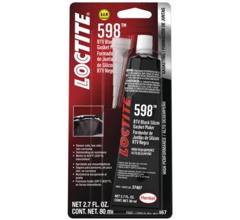 Loctite 598 RTV Black Silicone, 80ml