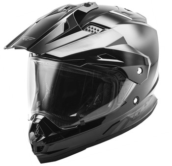 Fly Racing Trekker Helmet Gloss Black