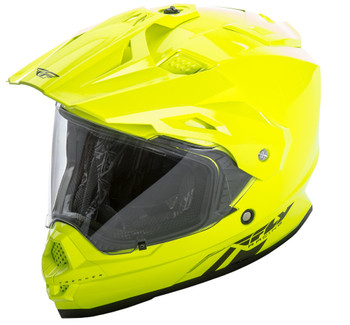Fly Racing Trekker Helmet Hi-Vis Yellow