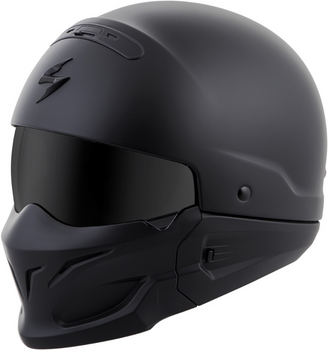 Scorpion Covert Helmet Matte Black