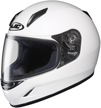 HJC CL-Y Youth Helmet White