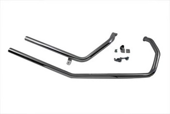 Paughco Straight End Exhaust for Harley Sportster '86-'03