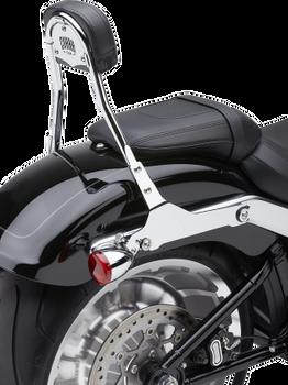 Cobra Detachable Backrest Kit for 2018 Softail Fat Boy and Breakout