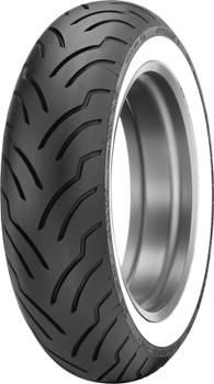 Dunlop American Elite 140/90B16 Wide Whitewall Rear Tire